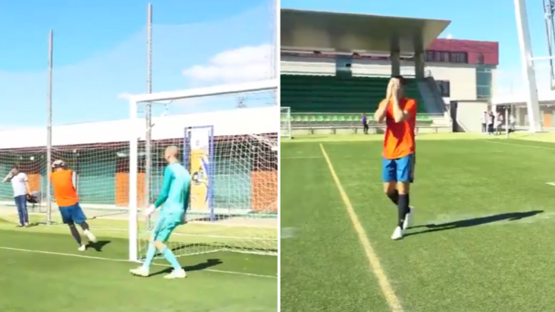 Alvaro Morata Had A Very Embarrassing Moment Filming An Advert