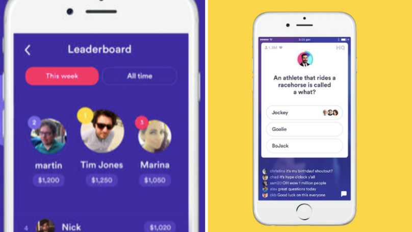 You Can Now Spy On Your Friends' Answers On HQ Trivia