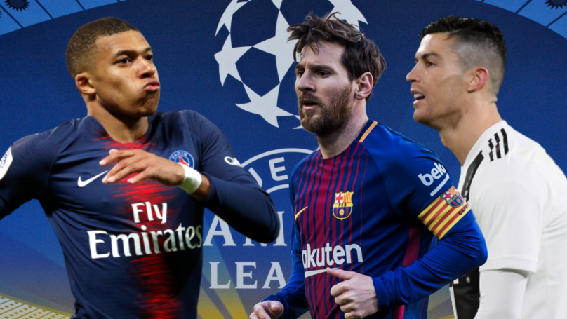 Mbappé's Champions League Goalscoring Record Outdoes Ronaldo And Messi's At The Same Age