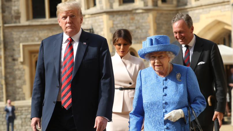 Donald Trump's UK Visit Cost Taxpayers £3 Million In Extra Policing