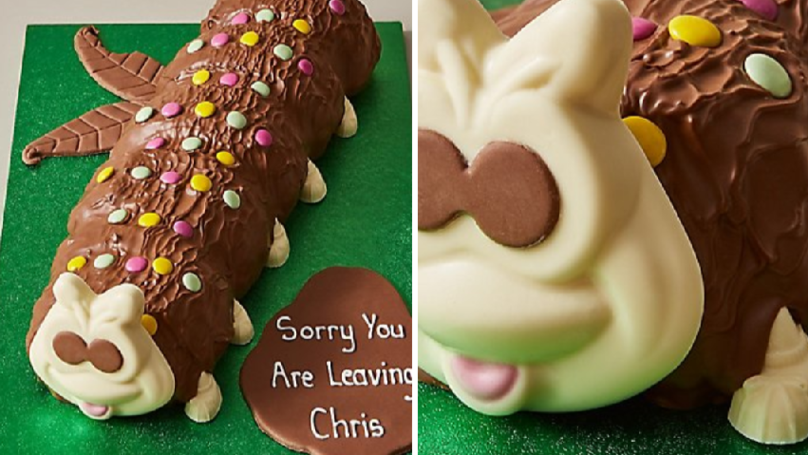 Colin The Caterpillar's Got Massive And He Now Comes In A Giant 2KG Cake