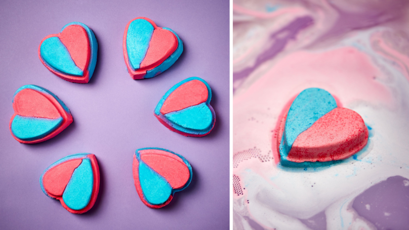 Lush Just Released A Bath Bomb In Support Of Trans' Rights