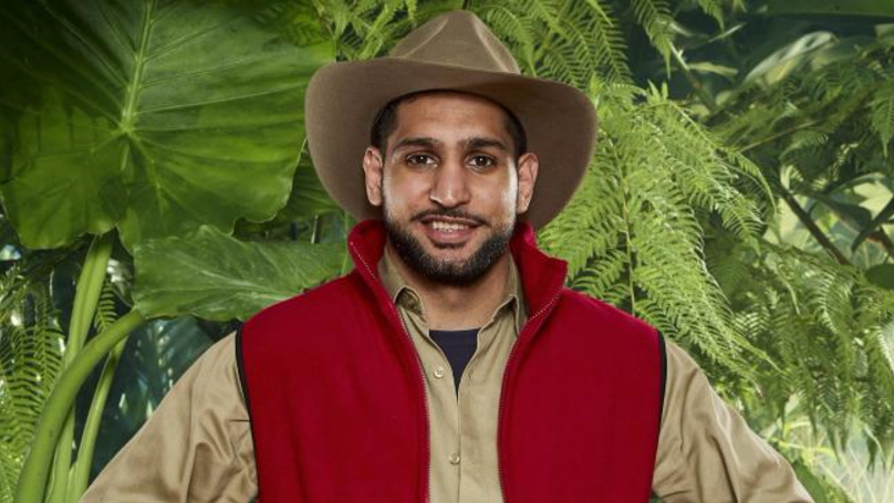 ​Strewth! Amir Khan Doesn't Know He's Going To Be Eating A Kangaroo's Bits And Pieces
