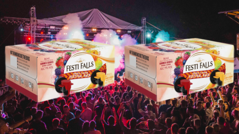 B&M Is Selling Giant Boxes Of Wine Just In Time For Festival Season