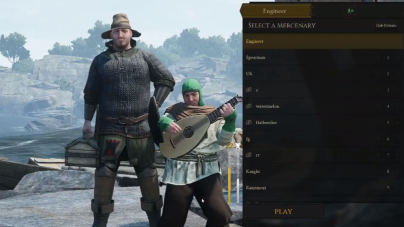​You Can Glitch Into Other Players' Character Select Screen In 'Mordhau'