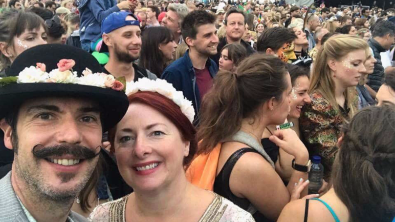 David Cameron Photobombs Labour Councillor's Selfie At Festival