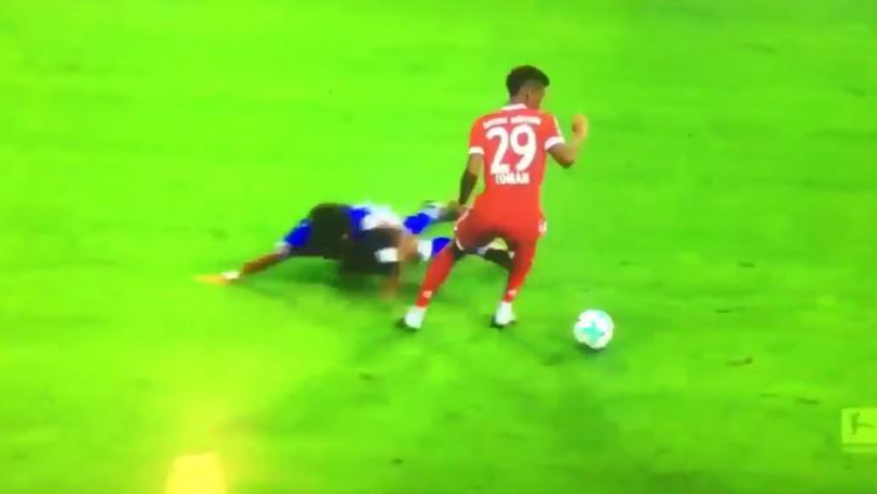 Kingsley Coman Kills Schalke Defender Thilo Kehrer With Skill