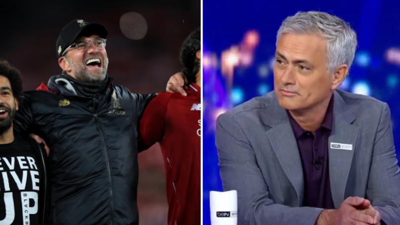 Jose Mourinho Full Of Praise For Jurgen Klopp After Famous Comeback