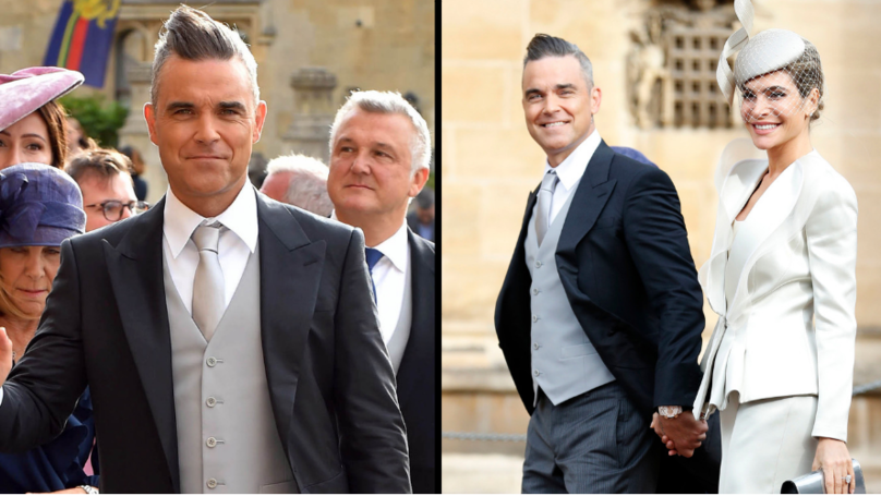 People Are Kicking Off About Robbie Williams' Manners At Royal Wedding