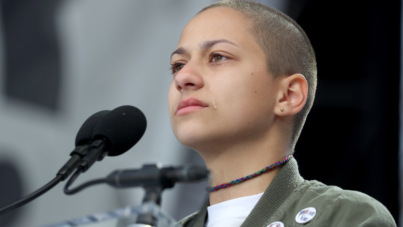 Parkland Survivor Emma Gonzales Pays Tearful Tribute At March For Our Lives