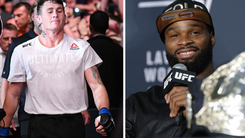 Tyron Woodley To Defend His Welterweight Title Against Darren Till