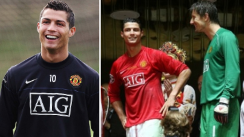 Edwin van der Sar Reveals How He'd Tease Cristiano Ronaldo During United Training