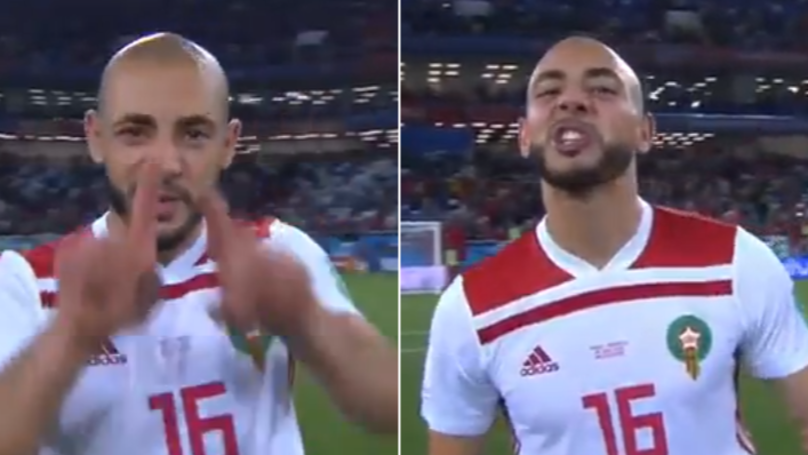 Morocco's Nordin Amrabat Lets Everyone Know What He Thinks Of VAR