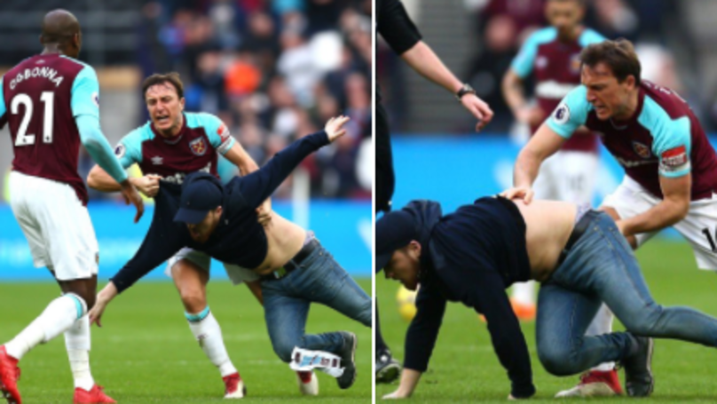 West Ham Captain Mark Noble Reacts To Chaotic Scenes At London Stadium