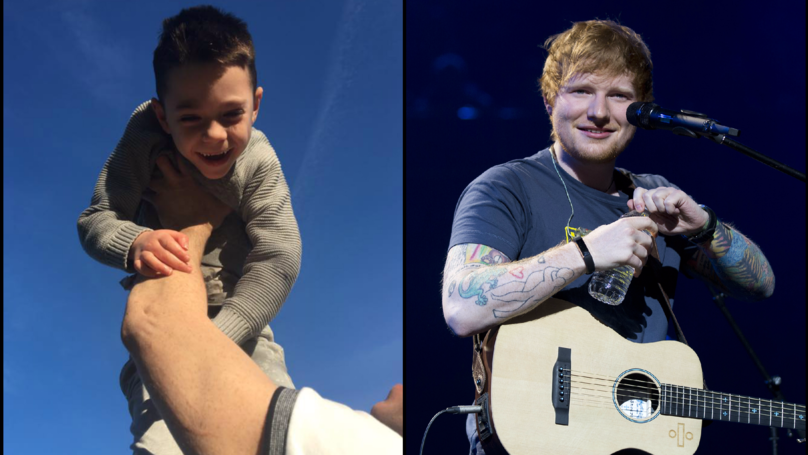 Ed Sheeran Grants Dying Boy's Wish By Meeting Him Backstage