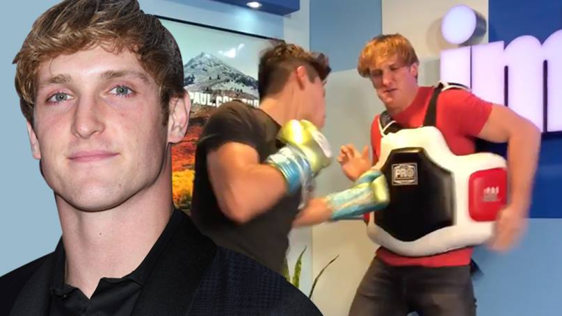 Logan Paul 'Gets Floored' By Professional Boxer Ryan Garcia
