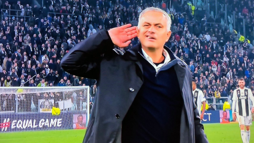 Jose Mourinho Wanted To Hear Juventus Fans After Manchester United's 2-1 Win