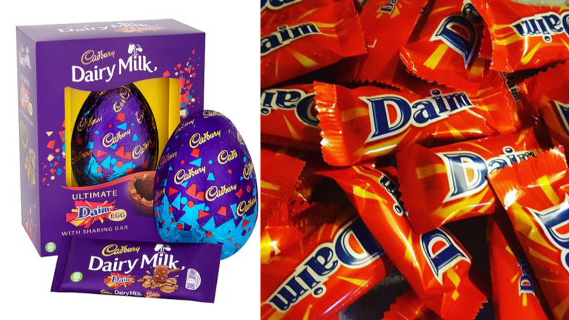 Cadbury Is Selling A Humongous Daim Easter Egg And It Looks Cracking