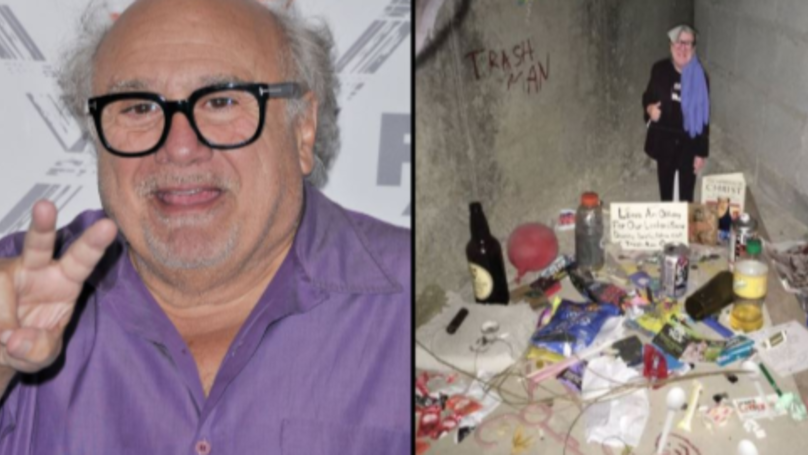 Students Create Secret Shrine Dedicated To Danny DeVito in College Toilets