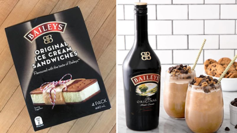 These Baileys Ice Cream Sandwiches Are The Perfect Picnic Treat