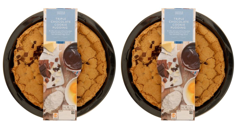 M&S Has Launched A Triple Chocolate Cookie Pudding