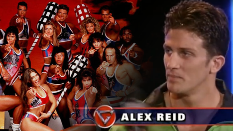 Throwback To When Alex Reid Appeared On ITV's Gladiators & Was Rubbish