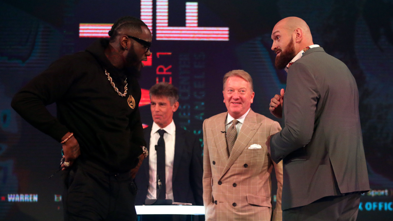 Deontay Wilder Calls Anthony Joshua 'A Coward' On 'Good Morning Britain'