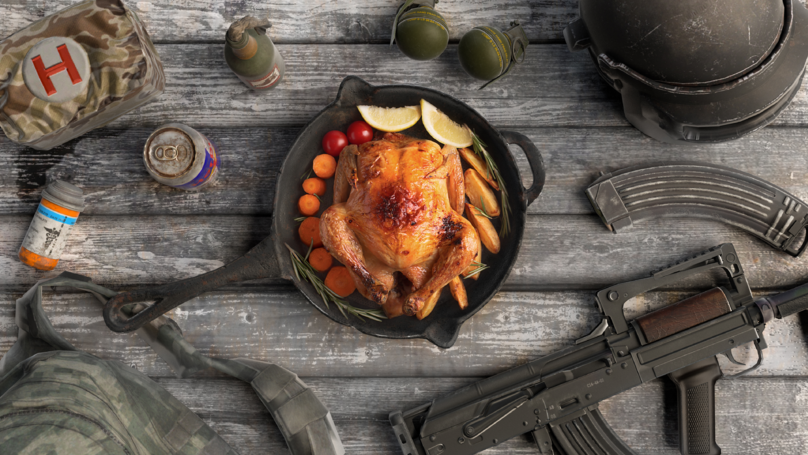 ​Man Steals And Sells Real Chickens To Afford Virtual 'PUBG' Chicken Dinners