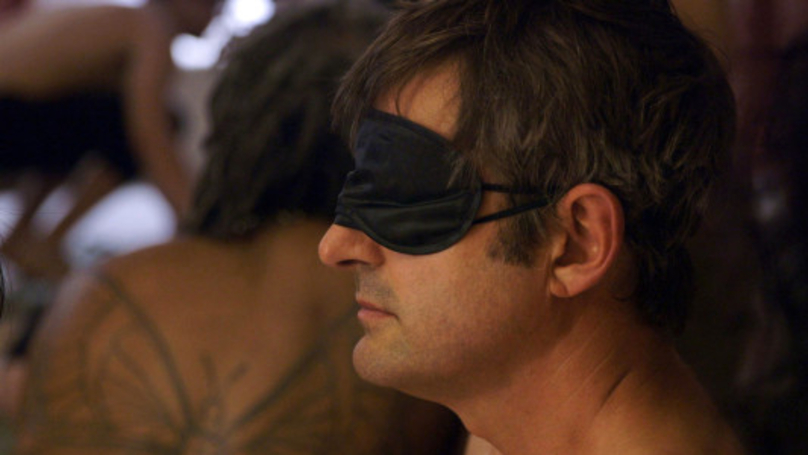 Louis Theroux Strips Off At 'Sensual Eating Party' For New Documentary