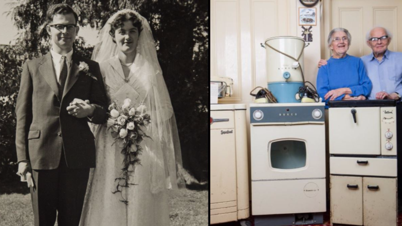 Elderly Couple's Old Household Appliances Still Work After 50 Years