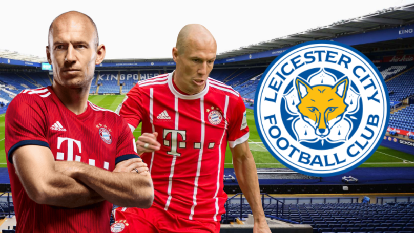 Leicester City Odds-On To Sign Arjen Robben This Summer