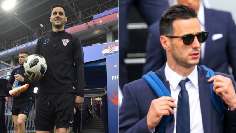 Image result for Nikola Kalinic Refuses 2018 World Cup Medal After Being Sent Home by Croatia