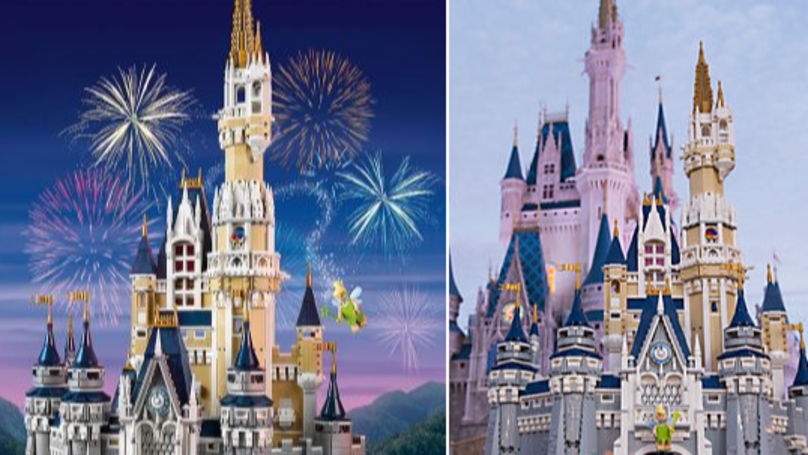 You Can Now Be Your Own Disney Princess Thanks To This Magical Lego Castle
