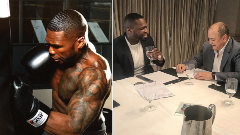 U.S Rapper 50 Cent Linked With Shock MMA Debut Against Bellator's Rampage Jackson