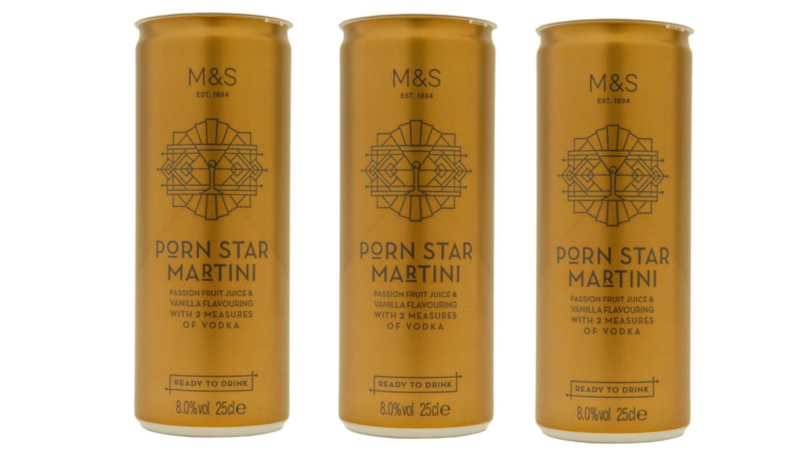 M&S Is Now Selling Pre-Made Pornstar Martini In A Can For £2