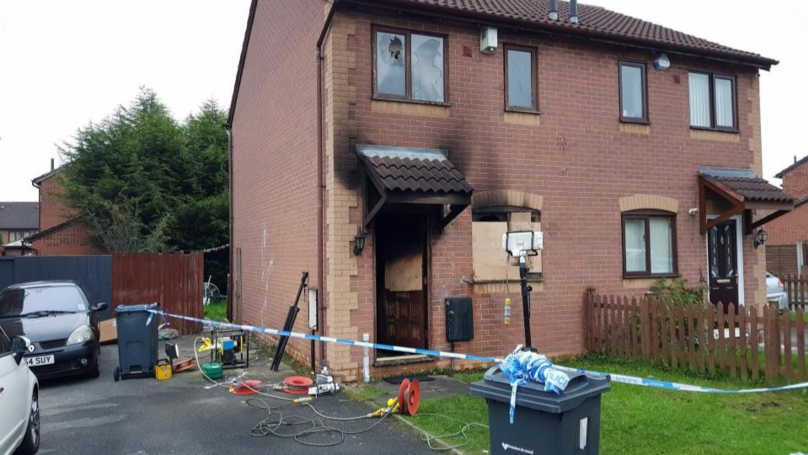 Man In Critical Condition After Lit Firework Is Posted Through Letterbox