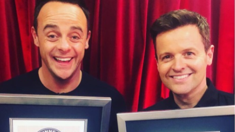 ​Ant And Dec Have Been Awarded A Guiness World Record