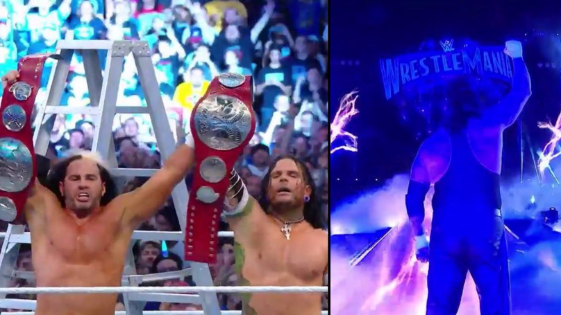 The Undertaker Retires And The Hardy Boyz Return At WrestleMania 33