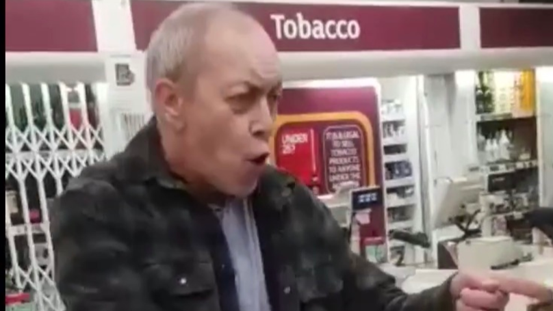 Racist Shopper Launches Abuse At Sainsbury's Security Guard