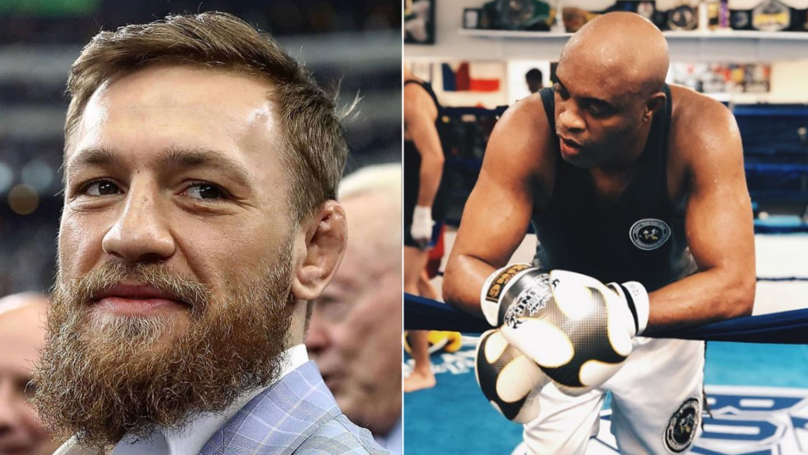 Anderson Silva Agrees To Fight Conor McGregor At 180-Pound Catchweight