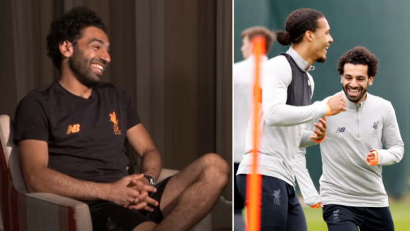 The Hilarious Reason Why Mohamed Salah Had To Google Virgil van Dijk