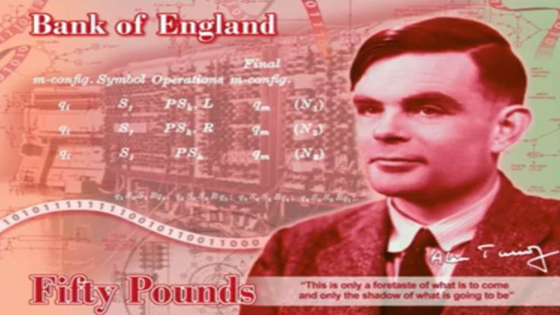 Alan Turing Is The New Face Of The New £50 Bank Note