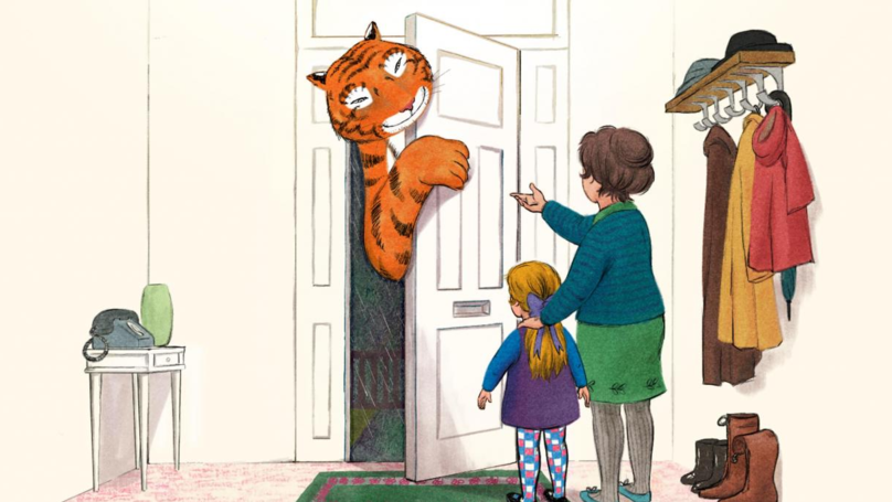'The Tiger Who Came To Tea' Is Being Made Into A TV Show