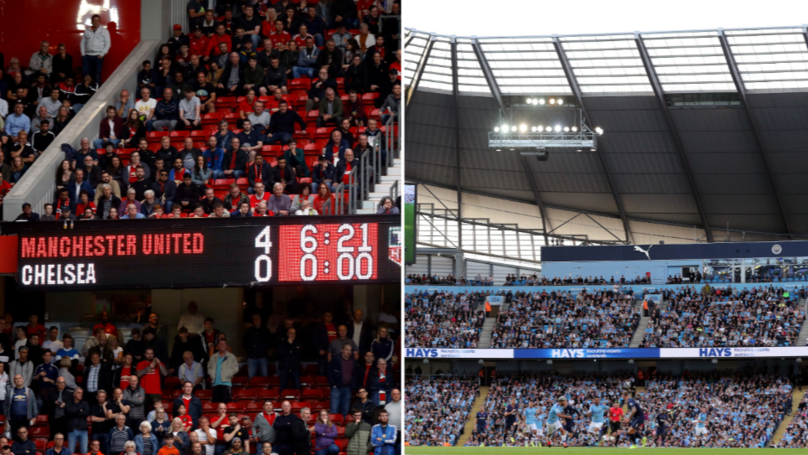 Old Trafford Had More Empty Seats Than The Etihad For Their Opening Home Premier League Fixture