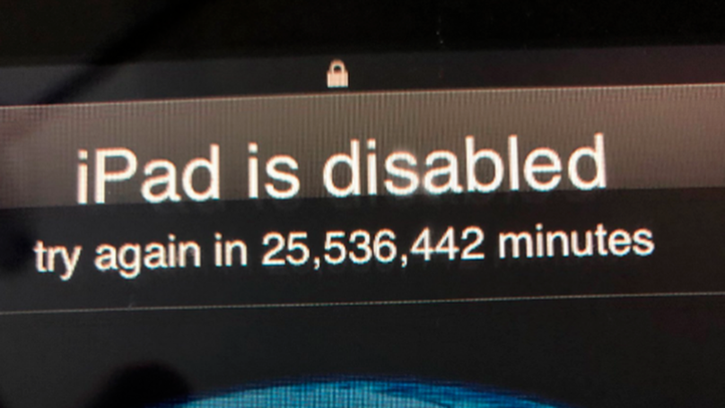 Dad Locked Out Of IPad For 47 Years Thanks To Inquisitive Toddler