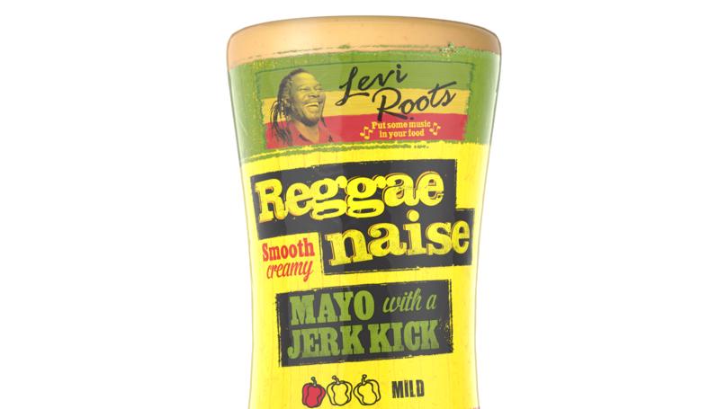 Levi Roots Launches New 'Reggaenaise' Reggae Reggae Sauce And Mayo Combo