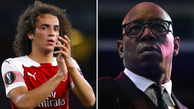 Ian Wright And Mattéo Guendouzi Have A Meaningful Instagram Exchange After Arsenal Loss
