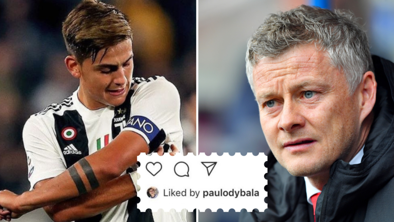 Paulo Dybala 'Likes' Fan's Post Calling For Him To Snub Manchester United And Become Juventus Captain