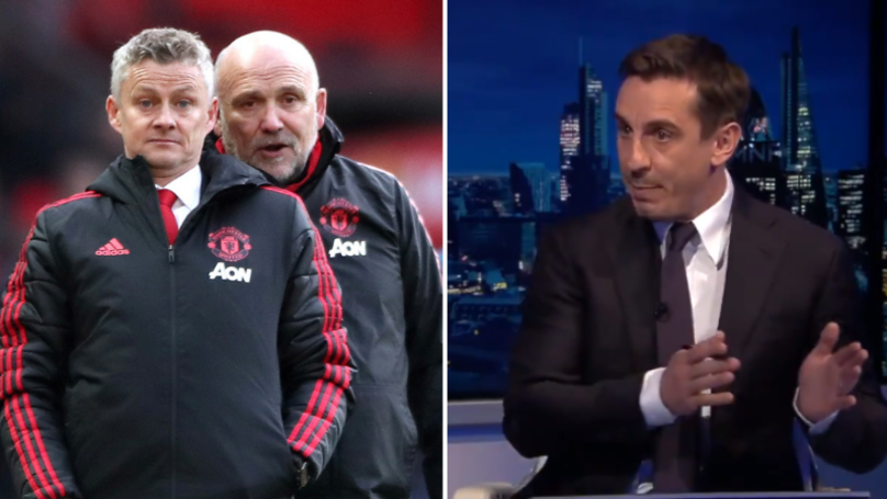Gary Neville Claims Manchester United Should Rest Players Against Manchester City