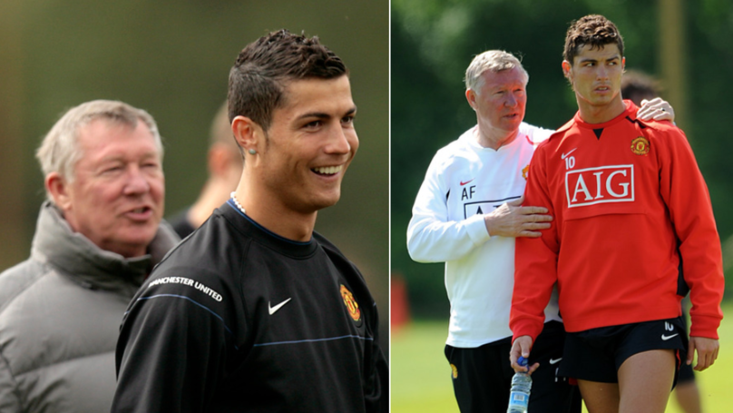 Cristiano Ronaldo Reveals What Sir Alex Ferguson Told Him To Stop Doing During Games